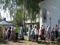 Престольный праздник Свято-Успенского храма с.Доброполье