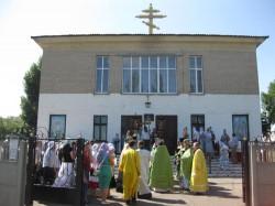 Свято-Амвросиевский храм г. Доброполья отметил свой первый престольный праздник