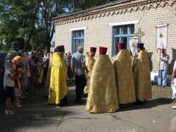 Престольный праздник Свято-Ильинского храма села Ново-Александровка