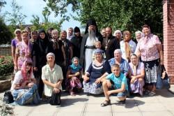 Праздник в Свято-Стефановском монастыре с. Степановка