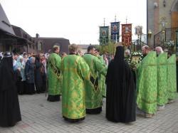 15-летний юбилей Свято-Сергиевского монастыря. Второй престольный праздник.