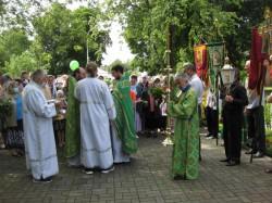 Свято-Троицкий храм г. Доброполья отметил свой престольный праздник.